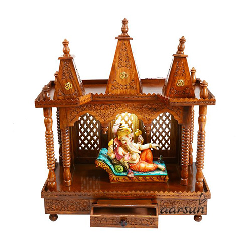 Astrological Aspects of Placing Wooden Temple at Home 2