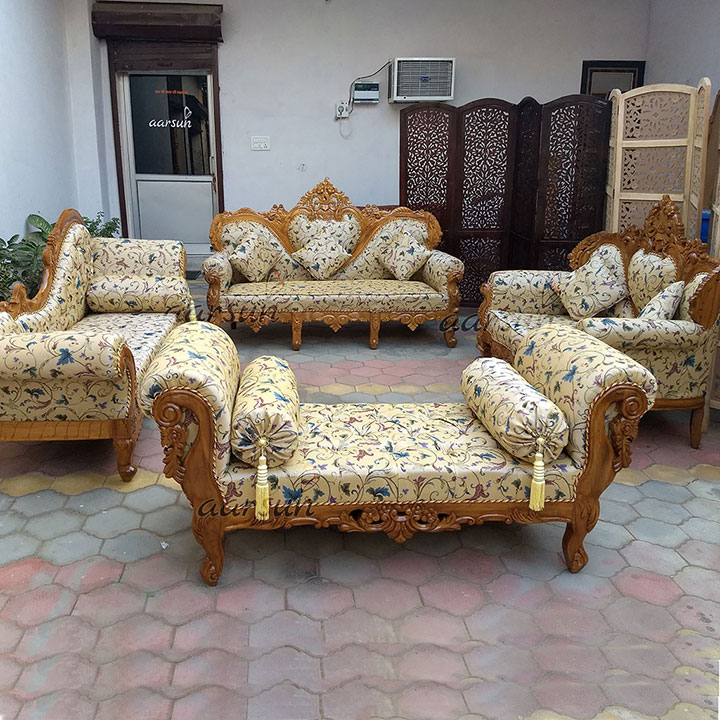 Best Quality Handmade Traditional Style, Living Room Furniture Traditional Style