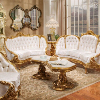 UH-YT-216-Designer Royal Sofa Set
