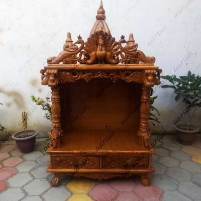 Exquisite Wooden Temple UH-YT-121