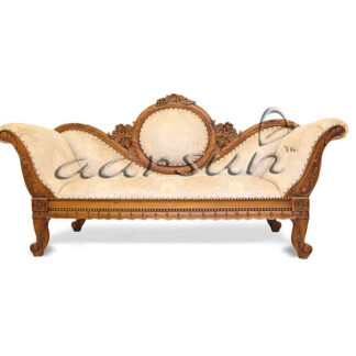 UH-DWN-0020 Wooden Camel back Couch Sofa