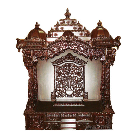 UH-MNDR-0022 Designer Wood Temple