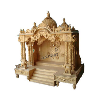 UH-MNDR-0026 designer wooden temple