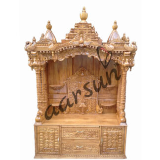 UH-MNDR-0012 Handcrafted Wood Temple