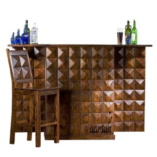 UH-BAR-0001 Bar Wooden Cabinet Aarsun