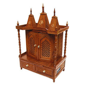 UH-MNDR-0049 Handmade Wood Temple