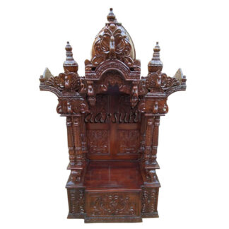 Home Temple in Teak Wood MNDR-0130