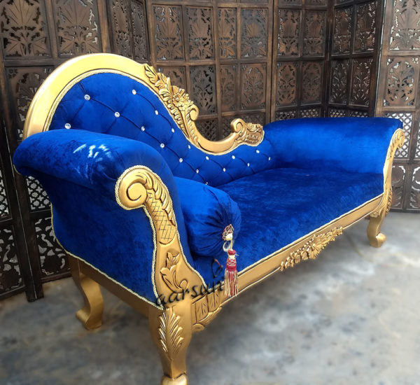 Royal Handcrafted Chaise Lounge - Premium Polish YT-28 1