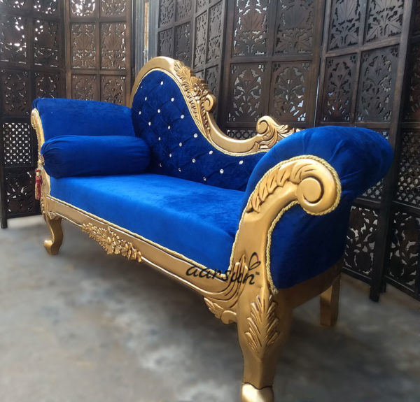 Royal Handcrafted Chaise Lounge - Premium Polish YT-28 2