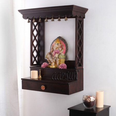 Wall Mounted Temple Aarsun UH-WSHLF-04