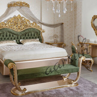 ROYAL-0006-Wooden Bedroom Set For Palaces