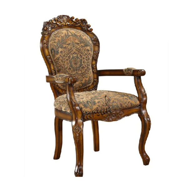 Wooden Carved Dining Chair Aarsun UH-DNGC-0010