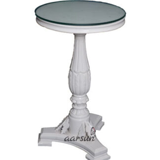 UH-CTBL-0001 White Round Center Table