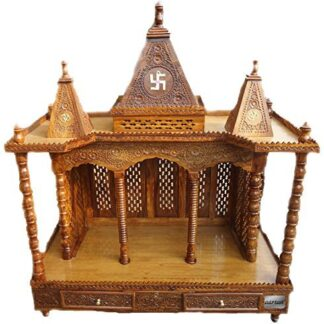 UH-MNDR-0065 Wooden Temple for Home