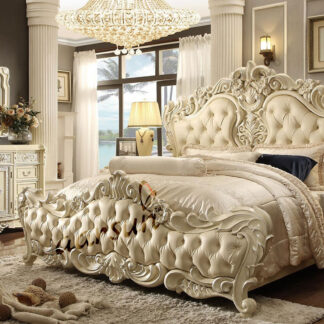 UH-ROYAL-0019-Aarsun Traditional Bedroom Set Furniture