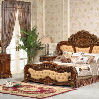 UH-BED-0008 Aarsun Wooden Luxurious Bedroom Furniture
