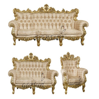 Wooden Antique sofa set UH-SF-0013