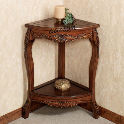 UH-COR-0008 Aarsun Wooden Corner Table