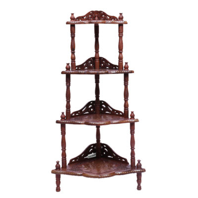 UH-COR-0013 Aarsun Wooden Antique Corner Stand