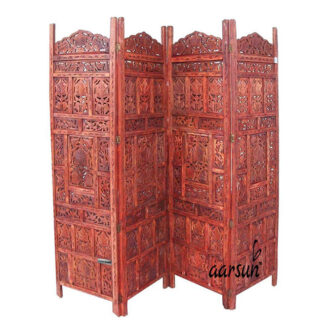 Sheesham Wood Partition Screen Aarsun UH-PART-0017