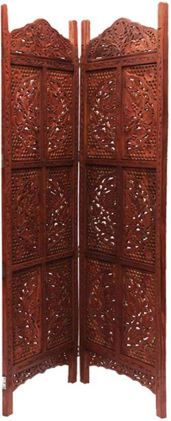 Traditional 4 Panel Partition Screen in Sheesham Wood PART-0054 2