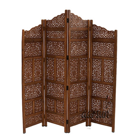 Traditional Wooden Partition Screen Aarsun UH-PART-0035