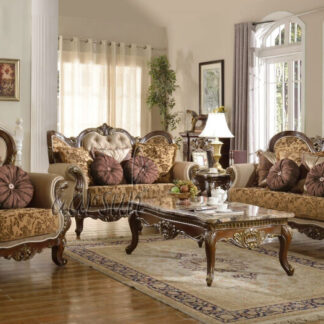 UH-SF-0065 Wooden hand-crafted Sofa Set