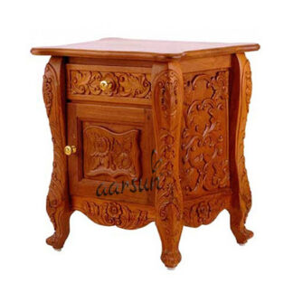Wooden lamp table Aarsun UH-SDTB-0024