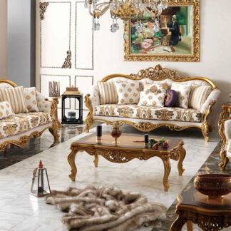 Antique Look Sofa Set UH-SF-0098