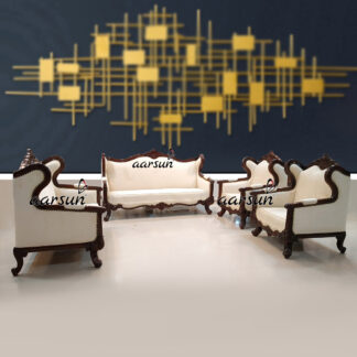 Image for 7 Seater Classic Wooden Sofa Set UH-YT-203