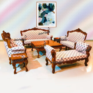 Image for 9 Seater Sofa Set in Teak Wood UH-YT-297