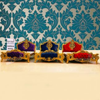 Image for Royal Queen Bed in 3 Fabrics UH-YT-295