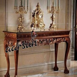 Image for Handcrafted Wooden Console Table UH-CNS-0009