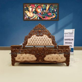 Image for Super King Size Bed in Matte Finish UH-YT-322