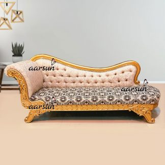 Image for Handcrafted Gold Chaise Lounge UH-DWN-0068