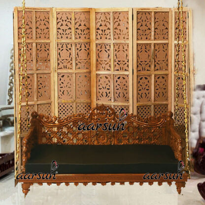 Image for Wooden Handcrafted Oonjal SWG-0052