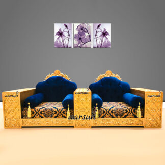 Image for 2 Seater Stylish Sofa Set Sitting Room Baithak UH-YT-453