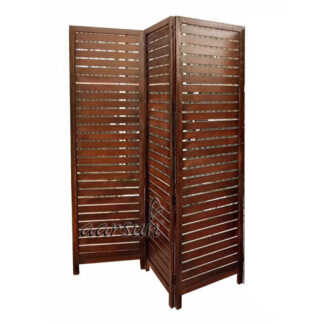 Image for Wooden 3 Panel Room Partition UH-RD-0002