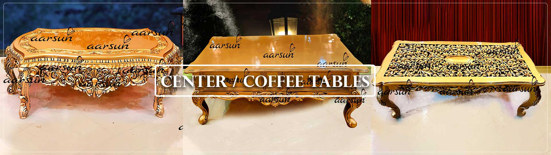 Aarsun Center Coffee Tables