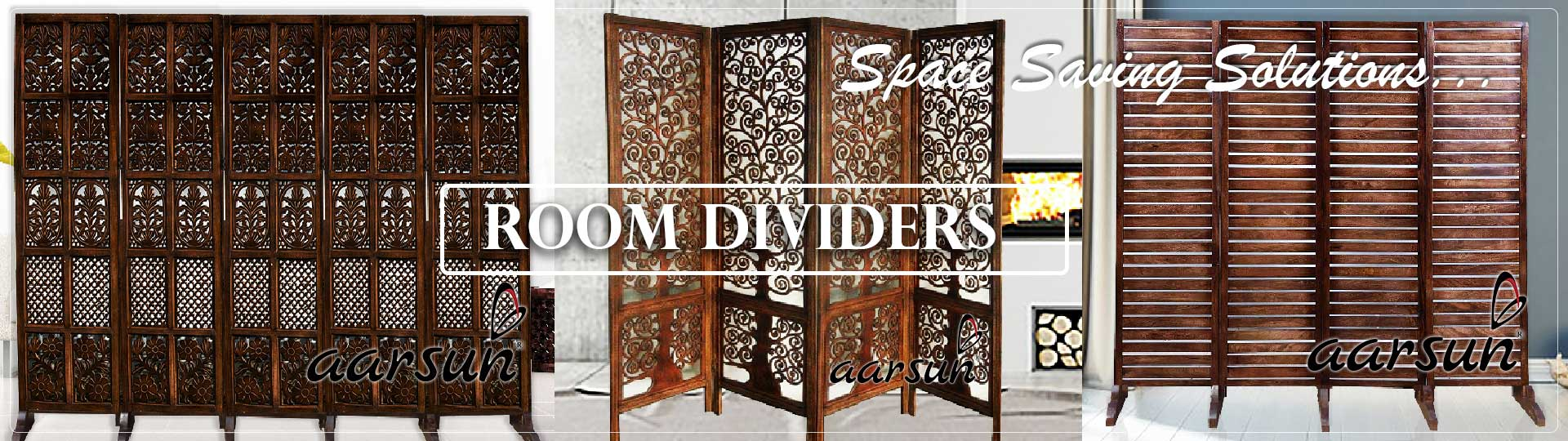 Aarsun Room Dividers Partition Screens