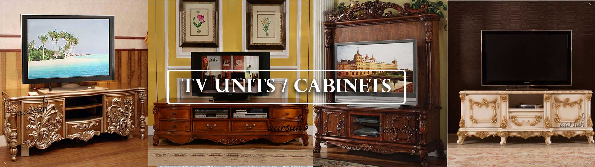 Aarsun TV Units Cabinets