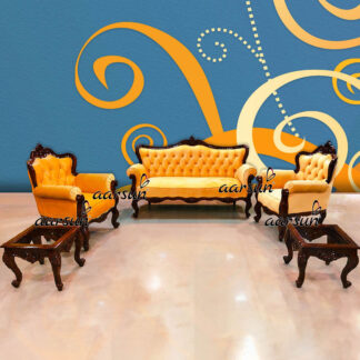 Image for Subtle 5 Seater Sofa Set with Center Table and Corner Tables UH-YT-503