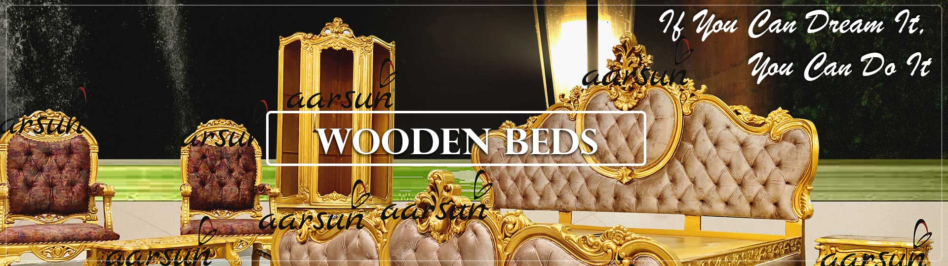 Wooden Beds by Aarsun