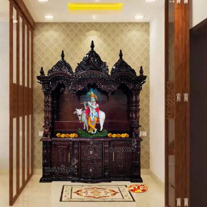 Image for Grand Temple Handcrafted in Teak Wood UH-YT-522