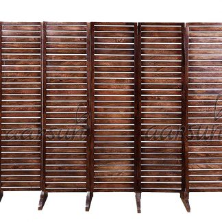Image for Wooden Partition 5 Panel with Stand RD-0013-5